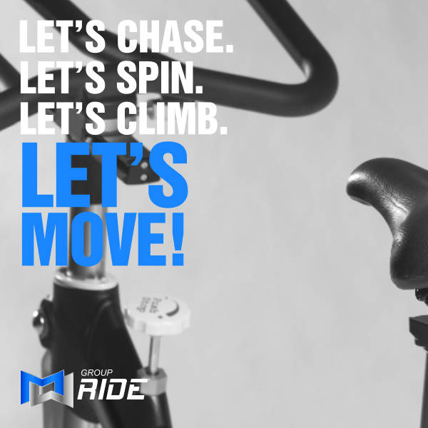 Group Ride Class at Pursue Fitness