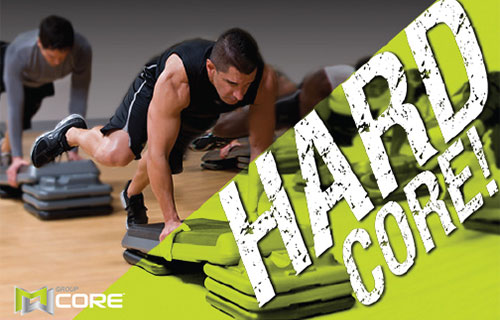 Group Core Fitness Class